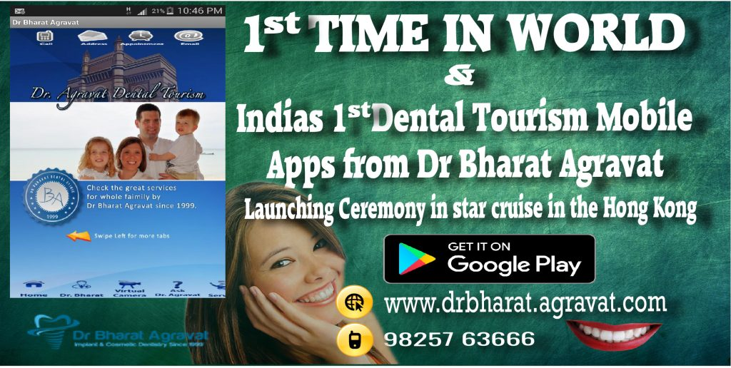 Dental Tourism India by Smile in hour cosmetic laser dental implant clinic Melbourne, Sydney, Brisbane, Australia. Ahmedabad